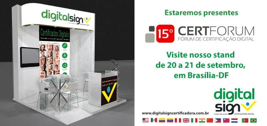 DigitalSign participa na 15ª Edição do CertForum